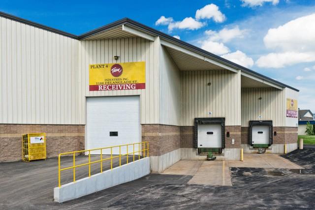 Team Industries receiving loading docks