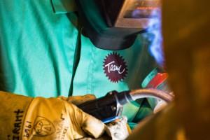 Close up of Team Industries welder